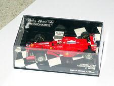 Minichamps F1 Ferrari 1998 Launch version #4 Eddie Irvine 1:43 RARE - OVP