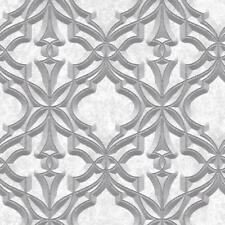 Rasch Stone Damask Wallpaper Faux Effect 3D Motif Realistic Metallic 282610