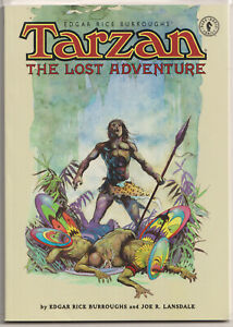 Tarzan the Lost Adventure Book 3 NM/M 9.8 Edgar Rice Burroughs Arthur Suydam