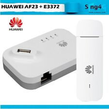Huawei AF23 + E3372 150Mbps Direct Sim Router Modem 32 Wifi Share 1 LAN