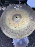 "Free P&P. 20"" Pearl Wild 500 Ride Cymbal RC009215"