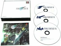 USED PS Final Fantasy VII 7 JAPAN Sony PlayStation 1 PS1 import Japanese game