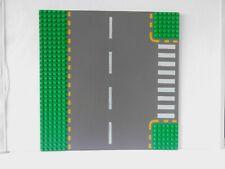 Lego Straßenplatte 32x32 Platte Straße T Kreuzung GRÜN Gehweg STREET