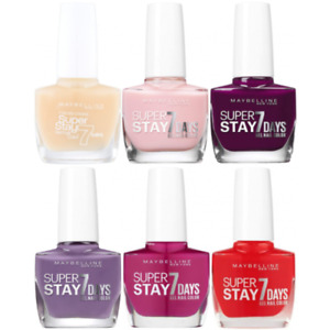 Maybelline - SuperStay 7 Days Gel Nail Color 10ml (36 SHADES)