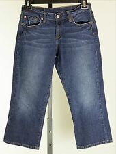 Lucky Brand Classic Fit Crop Capri Ladies Jeans Size 6/28 Style #7WP1003