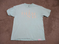 fbb212e2f7 Diamond Supply Company Shirt Adult Large Green White Skateboard Spell Out  Men S