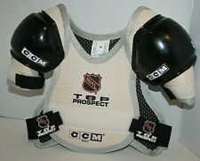 CCM Shoulder Pad Child's Small NHL Top Prospect Protective Gear Guard Chest NEW