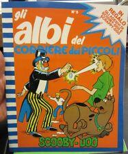 Gli Albi Corriere dei Piccoli N°5 ,1981 in allegato Adesivi Scooby-Doo [f19]