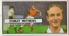 English Football Sir Stanley Matthews Soccer Vintage Trade Ad Card