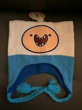 New with Tags NWT Adventure Time Finn Peruvian Beanie Laplander Hat
