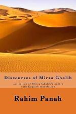 Discourses of Mirza Ghalib by Rahim Panah (2017, Paperback)