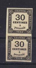 TAXE bande n°6  30c NOIR NEUF* sans trace charniere, sans clair+ TRES RARE stamp