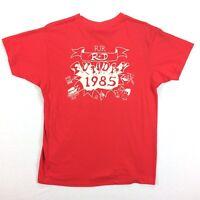 Vtg 80s RJR Tobacco T-Shirt Mens S/M Single Stitch Thin Faded USA Made Hanes