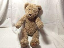 "FAO Schwarz Brown LARGE Teddy Bear Plush 24"" Stuffed Animal Large 1999"