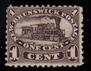 #6a New-Brunswick Canada mint no gum well centered