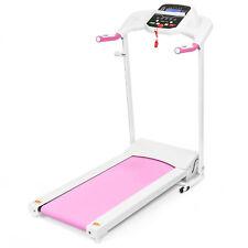 New 800W Portable Folding Electric Motorized Treadmill Machine w/ Rolling Wheels