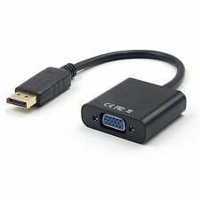 1080P Adaptador Convertidor Cable DisplayPort DP Macho a VGA Hembra per HDTV