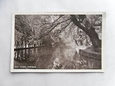 c1900 B/W Postcard. New River, Enfield (London's Artificial Waterway). Tranquil