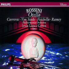 ██ OPER ║ Gioacchino Rossini (*1792) ║ OTELLO ║ José Carreras ║ 2CD