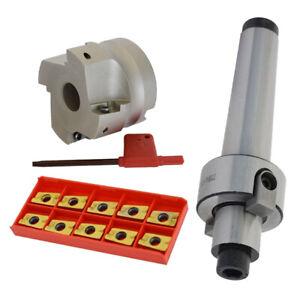 MT3-FMB22 Milling Tools Handle 400R Milling Cutter 10pcs APMT1604 CNC Inserts