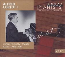 Alfred Cortot II - 2 CD-Chopin/Debussy/Franck/Ravel/Saint-Saens