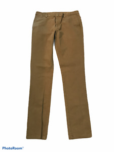 Old Navy Ultimate Skinny Olive Pants Men's Sz 34 x 36 Stretch Barely Worn