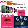 R-SIM15 Sim14+ Nano Unlock RSIM Card for iPhone 11 Pro XS MAX XR X 8 iOS13.5 Lot