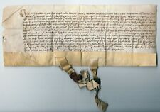 More details for hampshire. land deed for fordingbridge, 1474.