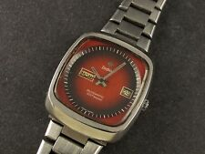 RARE VINTAGE ZODIAC SST 36000 ASTROGRAPHIC Day/Date AUTOMATIC EXCELLENT