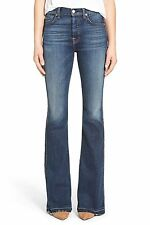 NWT 7 For All Mankind Vintage High Waist in La Palma Stretch Boot Jean 24 x 34