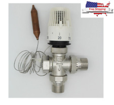 Energy Save 30-70 Control Floor Heating System Thermostatic Radiator 3 Way Valve