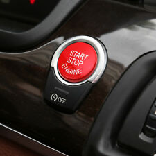 Red engine switch button with auto start/stop function for all BMW chassis F