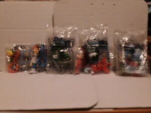 (Rare) lot of 5 Jetsons 2000 Jack In The Box Kids Meal Toy Backpack Clips
