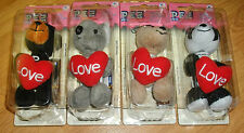 PEZ LOVE CUDDLE CUBS ( SET OF 4)