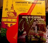 Concierto De Aranjuez Juaquin Rodrigo Guitar Vinyl LP Ataulfo Argenta RARE