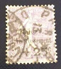 France N°276 25/50 C Violet Oblitère 5 Eme Amortissement Côté 110€