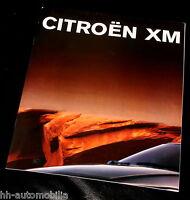 Citroen XM Limousine Prospekt 1991 D brochure Autoprospekt prospectus brosjyre