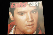 Elvis Presley SUSPICIOUS MINDS LP - SEALED MINT 1982 UK PICKWICK CDSV 1206