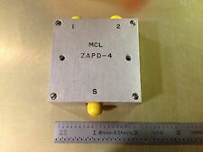 Mini-Circuits ZAPD-4 Splitter/Combiner 2-4.2 GHz SMA Conn. NEW! FACTORY WRAPPED!