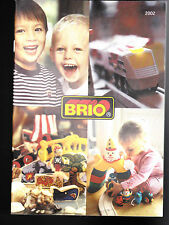 2002 Brio Catalog- 72 pages- Curious George, Bob the Builder, Richard Scarry