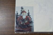 Rotund Santa Pattern Packet #WH.PP5 Christmas Holiday Decorating Gift Idea