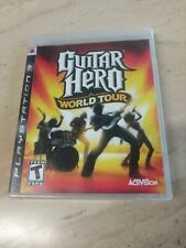 Guitar Hero World Tour PlayStation 3 PS3