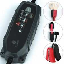 Premium 3.8A 8 Modes 6V/12V Intelligent Battery Maintainer Charger, Waterproof