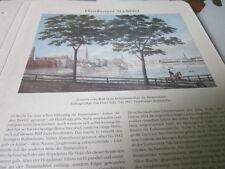 Archivio Amburgo città 1 1091 immagine Alster interne del Wall legno quando si 1827 diga Suhr