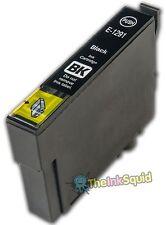 Black Ink Cartridge for Epson Stylus (non-oem) Replaces Epson T1291 'Apple'