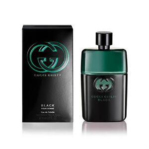 Gucci Guilty Black Pour Homme For Men 3.0 OZ/90 ML Eau De Toilette Spray Sealed