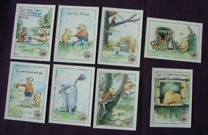 8 different Winnie the Pooh Modern Postcards Reflex Marketing