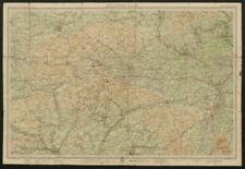 Winchester SALISBURY Antique Map 1903 by Bartholomew; Andover Newbury