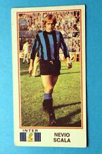 Panini Calciatori 1974/75 NUOVA CON VELINA NEW INTER N. 168 SCALA