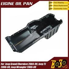 Jeep Wrangler TJ YJ   91-06  OEM Engine Oil Pan  4.0  6cyl   FREE SHIPPING